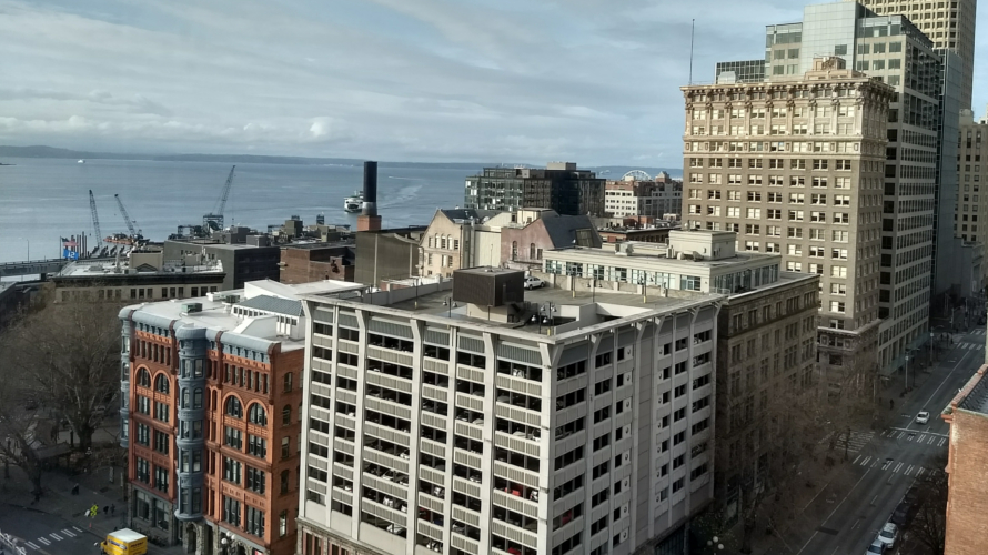 View of Downtown Seattle from Smith Tower