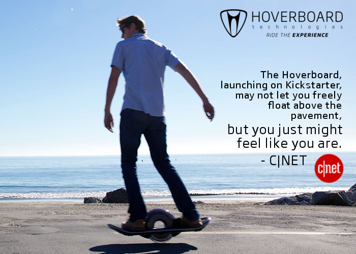 Hoverboard - CNET review - Feels like floating